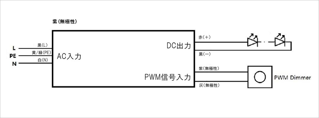 OSRAM 30W 結線図 久保田電子設計