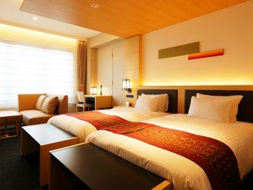 ホテル客室などの間接照明